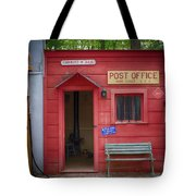 Small Town Post Office Tote Bag