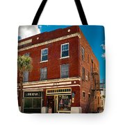 Small Town Shops Tote Bag