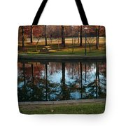 Small Urban Park Tote Bag