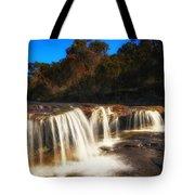 Small Waterfall In Australian Landscape  Tote Bag