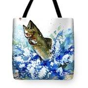 Smallmouth Bass Tote Bag
