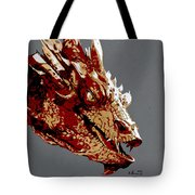 Smaug The Unassessably Wealthy Tote Bag