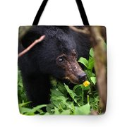 Smelling The Flowers Tote Bag