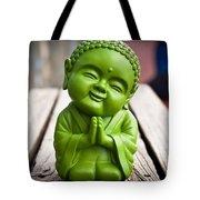 Smiley Buddha Tote Bag