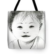 Smiling Child Tote Bag