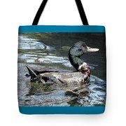 Smiling Duck Tote Bag