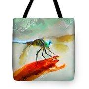 Smiling From Ear To Ear Tote Bag