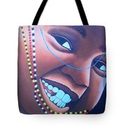 Smiling Kid Tote Bag