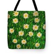 Smiling Margaret's Flowers Tote Bag