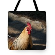 Smiling Rooster Tote Bag
