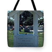 Smith Island Plea Tote Bag