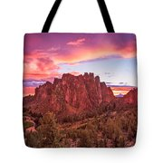 Smith Rock Sunset Tote Bag