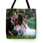 Smith Wedding Portrait Tote Bag