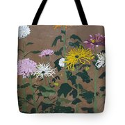 Smith's Giant Chrysanthemums Tote Bag