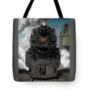 Smoke And Steam Tote Bag