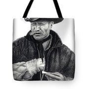 Smoke Break Tote Bag