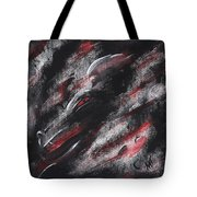 Smoke Dragon Tote Bag