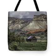 Smoke In The Mountains Tote Bag