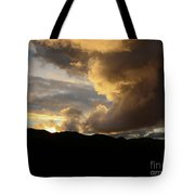 Smoke Like Sunset Tote Bag