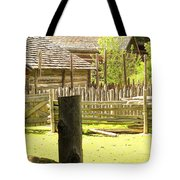 Smoke Rising Tote Bag