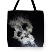 Smoke Skull Tote Bag