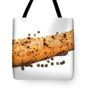 Smoked Salmon Fillet With Black Pepper Tote Bag
