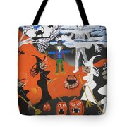 Smokey Halloween Tote Bag