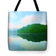 Smokey Mountain Lake Tote Bag