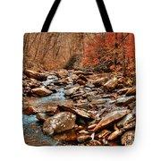Smokey Mountain Streams And Fall Foilage 2 Tote Bag