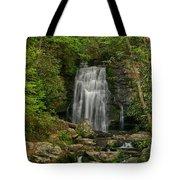 Smokey Mountain Waterfall Tote Bag
