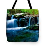 Smokey Mountains Mountain Stream 4 Tote Bag