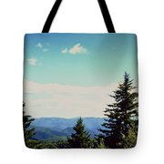 Smokey Mountains, Tn Tote Bag