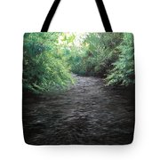 Smokey River Tote Bag