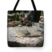Smokey The Bear Memorialized Tote Bag