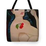Smokin Betty Tote Bag