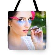 Smoking Glamour Tote Bag