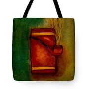Smoking Pipe Tote Bag