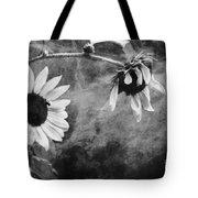 Smoking Sunflowers Tote Bag