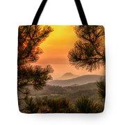 Smoky Black Hills Sunrise Tote Bag