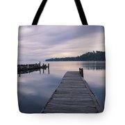 Smoky Blues Tote Bag