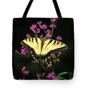 Smoky Mountain Butterfly Tote Bag