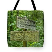 Smoky Mountain Directional Tote Bag