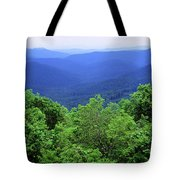Smoky Mountain National Park Tote Bag