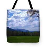 Smoky Mountain Range Tote Bag