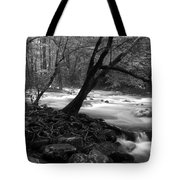 Smoky Mountain Stream Tote Bag