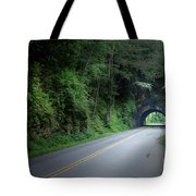 Smoky Mountain Tunnel Tote Bag