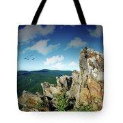 Smoky Mountain View Tote Bag