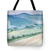 Smoky Mountains From Cades Cove Loop Tote Bag