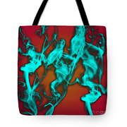 Smoky Shadows Tote Bag