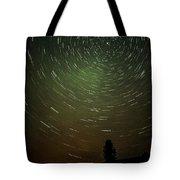 Smoky Starry Skies Tote Bag